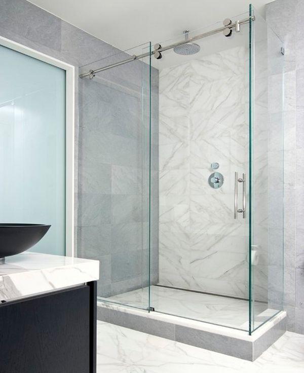 Phòng tắm kính cửa lùa Quận Bình Tân