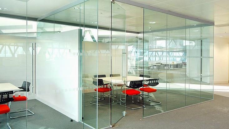thiết kế vách ngăn văn phòng đẹp quận 5