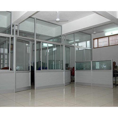 Vách ngăn văn phòng nhôm kính Quận Bình Tân