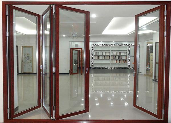Cửa nhôm xingfa vân gỗ Quận Bình Tân