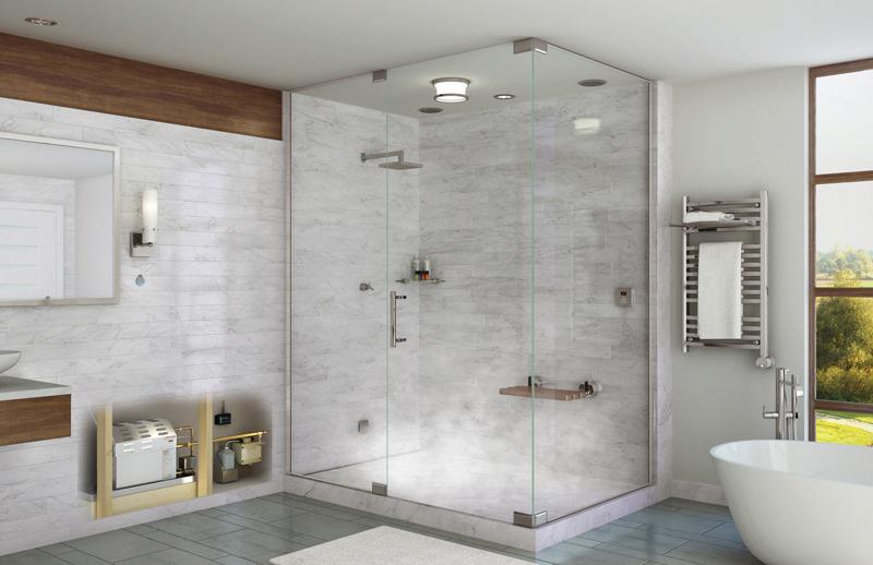 Phòng tắm kính Quận Bình Tân