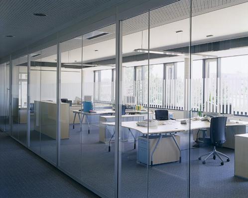 Thiết kế vách kính văn phòng Quận Bình Tân