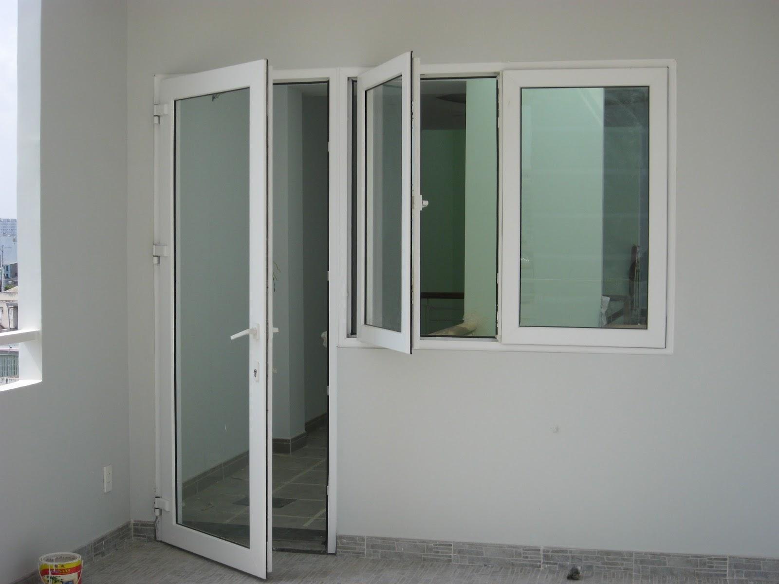 Cửa nhựa lỏi thép MV-15